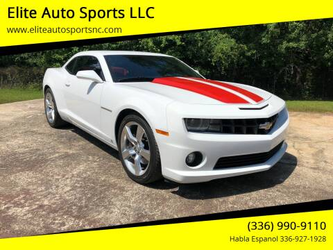 2010 Chevrolet Camaro for sale at Elite Auto Sports LLC in Wilkesboro NC