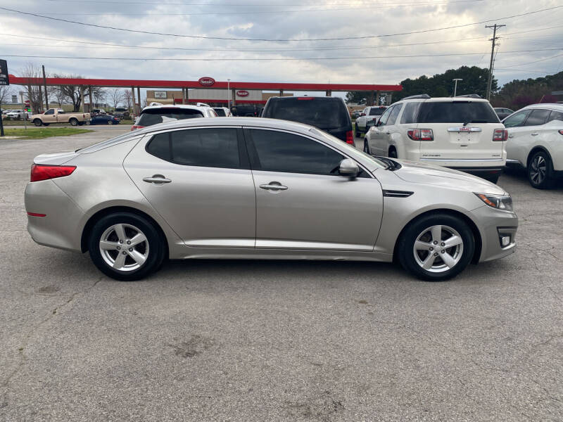 2014 Kia Optima for sale at Smooth Solutions 2 LLC in Springdale AR