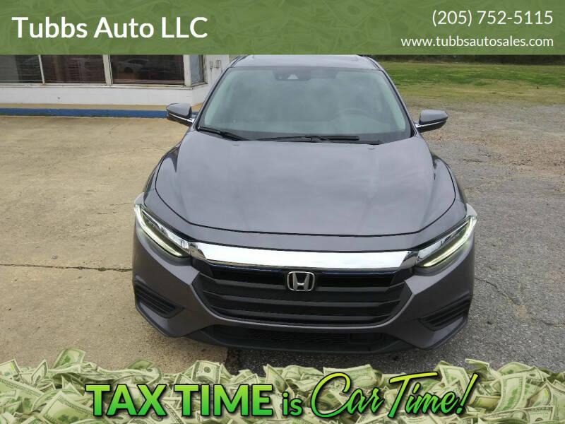 2019 Honda Insight for sale at Tubbs Auto LLC in Tuscaloosa AL