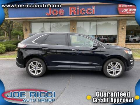 2018 Ford Edge for sale at JOE RICCI AUTOMOTIVE in Clinton Township MI