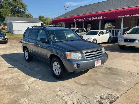 2005 Toyota Highlander for sale at Taylor Auto Sales Inc in Lyman SC