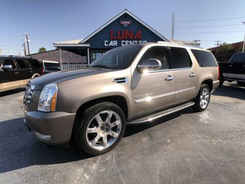 2011 Cadillac Escalade ESV for sale at LUNA CAR CENTER in San Antonio TX