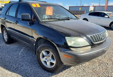 2002 Lexus RX 300 for sale at AZ Auto and Equipment Sales in Mesa AZ