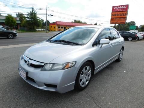 2009 Honda Civic for sale at Cars 4 Less in Manassas VA