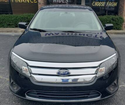 2012 Ford Fusion for sale at East Carolina Auto Exchange in Greenville NC