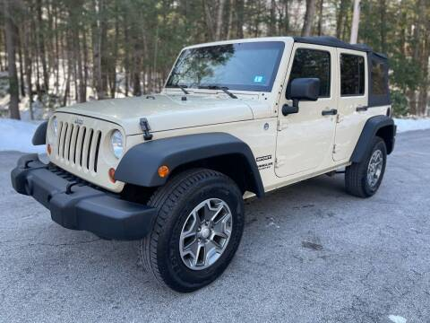 2012 Jeep Wrangler Unlimited for sale at Amherst Street Auto in Manchester NH