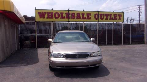 2003 Buick Century for sale at LONG BROTHERS CAR COMPANY in Cleveland OH