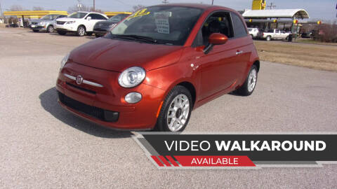 2013 FIAT 500 for sale at 6 D's Auto Sales MANNFORD in Mannford OK
