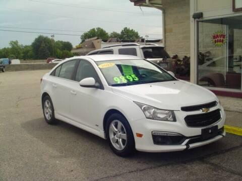 2015 Chevrolet Cruze for sale at G & L Auto Sales Inc in Roseville MI