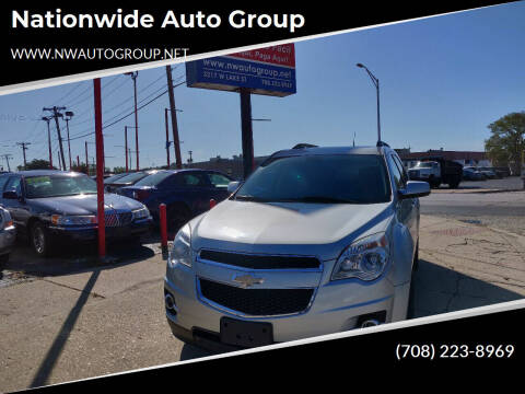 2011 Chevrolet Equinox for sale at Nationwide Auto Group in Melrose Park IL