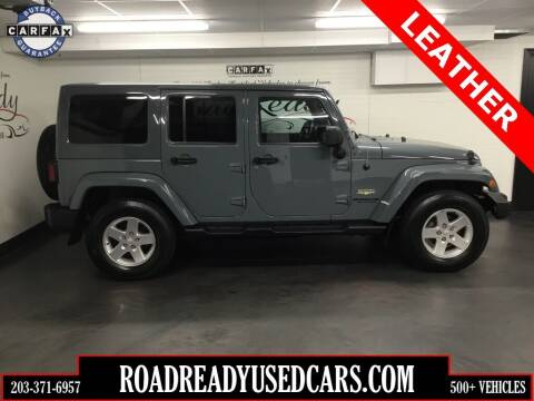 2014 Jeep Wrangler Unlimited for sale at Road Ready Used Cars in Ansonia CT