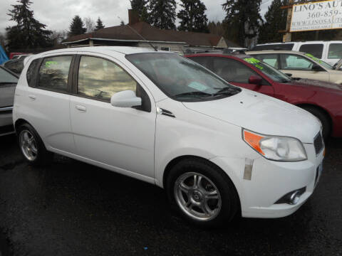 2011 Chevrolet Aveo for sale at Lino's Autos Inc in Vancouver WA