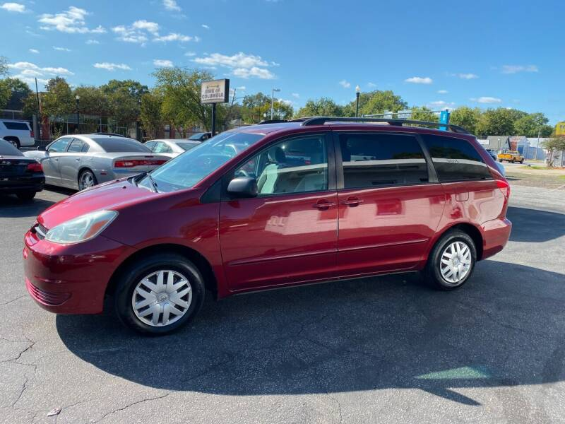 2004 Toyota Sienna for sale at BWK of Columbia in Columbia SC