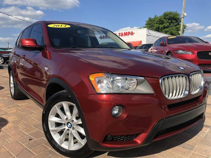 2014 BMW X3 for sale at Cars of Tampa in Tampa FL