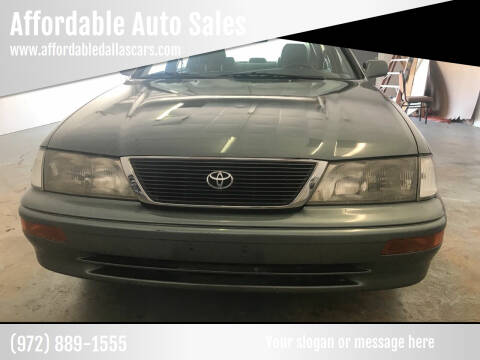 1997 Toyota Avalon for sale at Affordable Auto Sales in Dallas TX