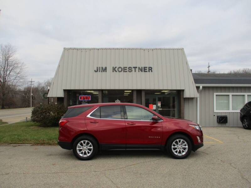 2020 Chevrolet Equinox for sale at JIM KOESTNER INC in Plainwell MI