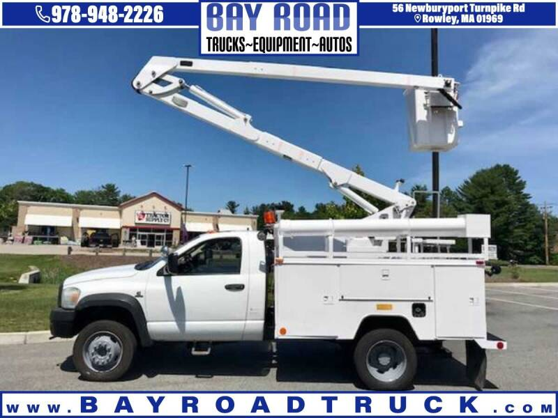 2010 Dodge Ram Chassis 5500 for sale at Bay Road Trucks in Newbury MA