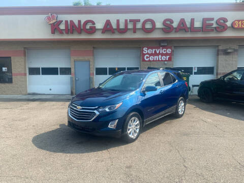 2021 Chevrolet Equinox for sale at KING AUTO SALES  II in Detroit MI