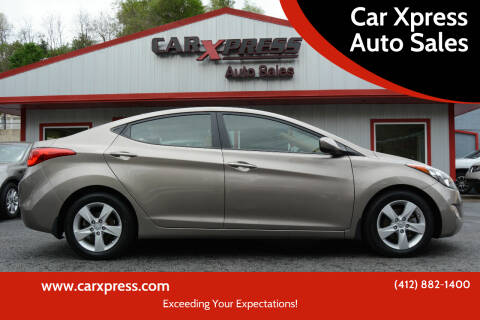 2013 Hyundai Elantra for sale at Car Xpress Auto Sales in Pittsburgh PA