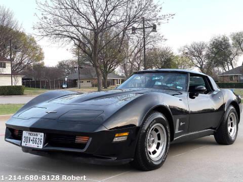 1980 Chevrolet Corvette for sale at Mr. Old Car in Dallas TX