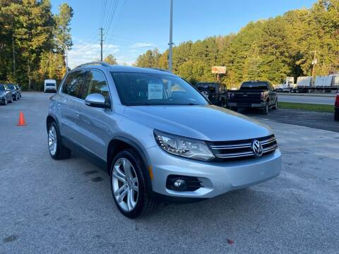 2013 Volkswagen Tiguan for sale at Galaxy Auto Sale in Fuquay Varina NC