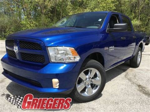 2019 RAM Ram Pickup 1500 Classic for sale at GRIEGER'S MOTOR SALES CHRYSLER DODGE JEEP RAM in Valparaiso IN