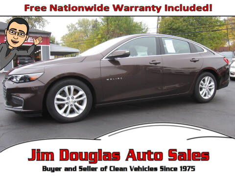 2016 Chevrolet Malibu for sale at Jim Douglas Auto Sales in Pontiac MI