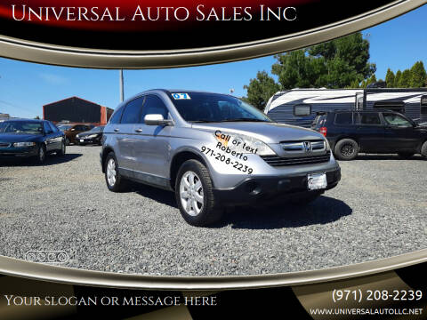2007 Honda CR-V for sale at Universal Auto Sales Inc in Salem OR