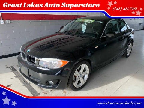 2012 BMW 1 Series for sale at Great Lakes Auto Superstore in Pontiac MI