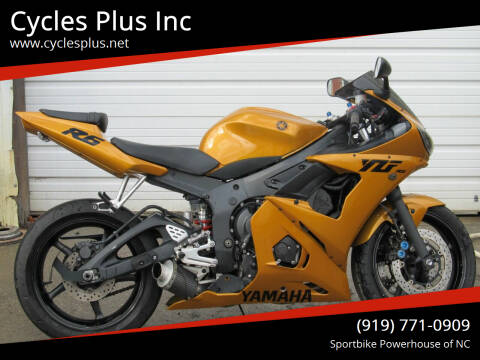 2007 Yamaha YZF R6s for sale at Cycles Plus Inc in Garner NC