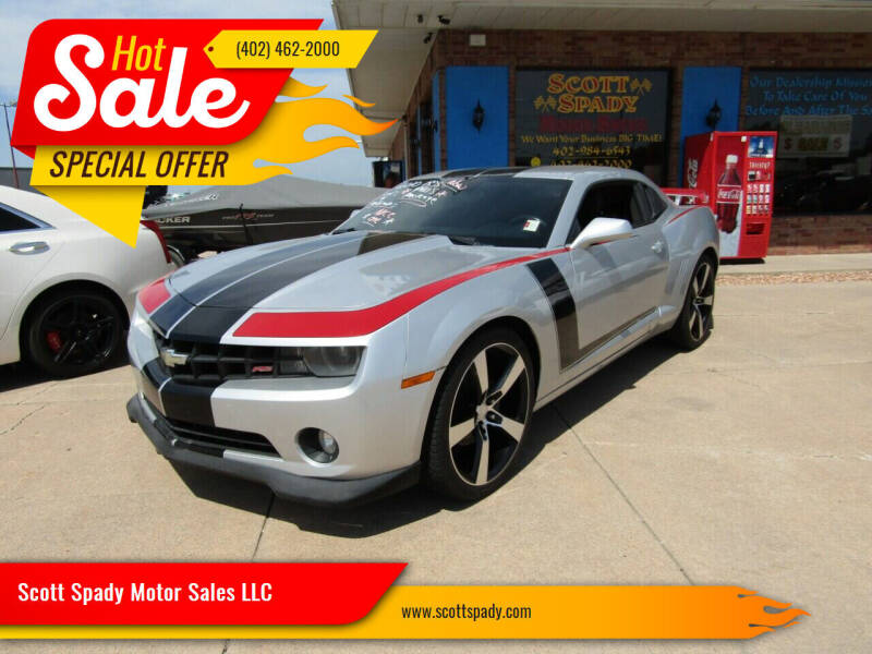 2010 Chevrolet Camaro for sale at Scott Spady Motor Sales LLC in Hastings NE