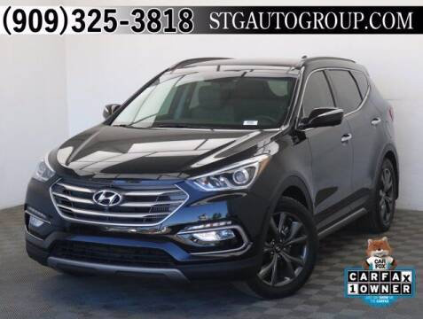2017 Hyundai Santa Fe Sport for sale at STG Auto Group in Montclair CA