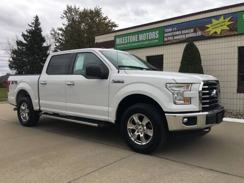 2017 Ford F-150 for sale at MILESTONE MOTORS in Chesterfield MI