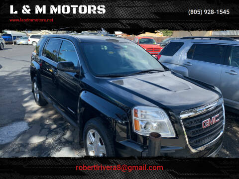 2016 GMC Terrain for sale at L & M MOTORS in Santa Maria CA