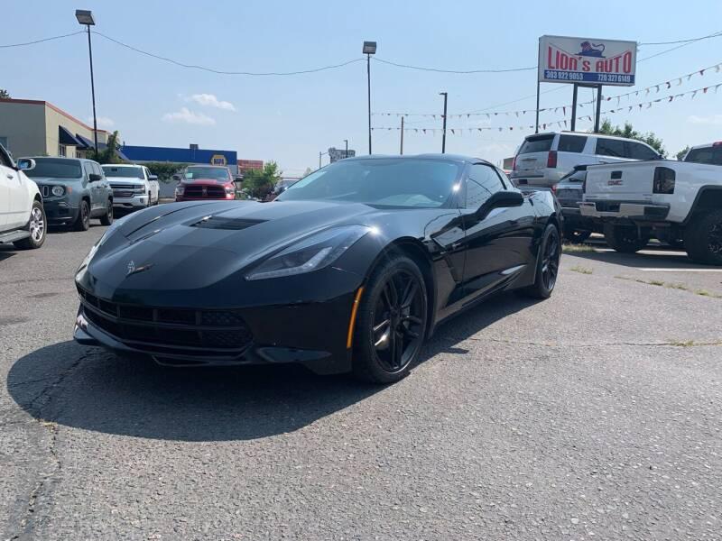2014 Chevrolet Corvette for sale at Lion's Auto INC in Denver CO