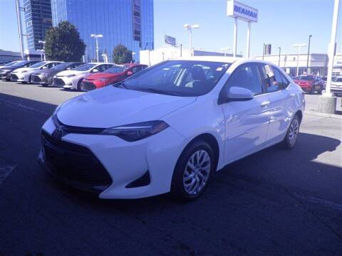 2018 Toyota Corolla for sale at BEAMAN TOYOTA GMC BUICK in Nashville TN