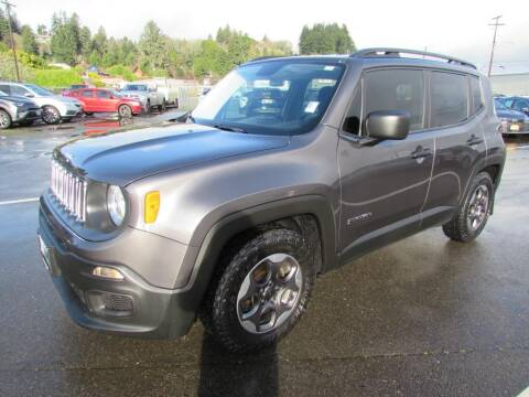 2017 Jeep Renegade for sale at 101 Budget Auto Sales in Coos Bay OR