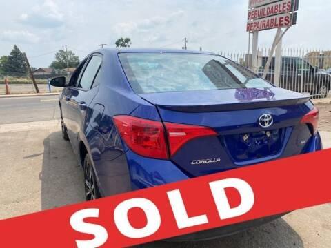 2017 Toyota Corolla for sale at ELITE MOTOR CARS OF MIAMI in Miami FL