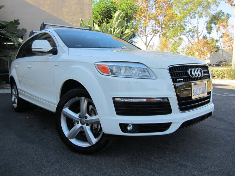 2009 Audi Q7 for sale at ORANGE COUNTY AUTO WHOLESALE in Irvine CA