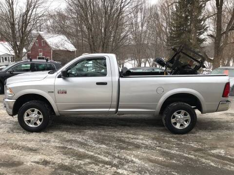 2012 RAM Ram Pickup 2500 for sale at MICHAEL MOTORS in Farmington ME