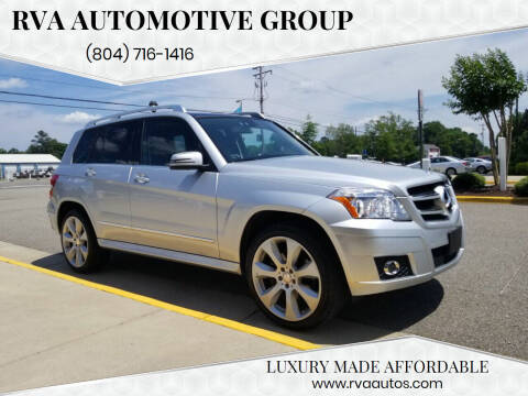 2011 Mercedes-Benz GLK for sale at RVA Automotive Group in North Chesterfield VA