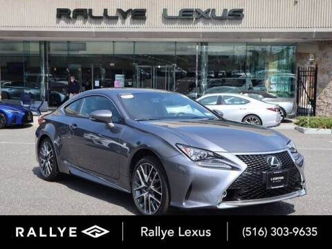 2017 Lexus RC 300 for sale at RALLYE LEXUS in Glen Cove NY