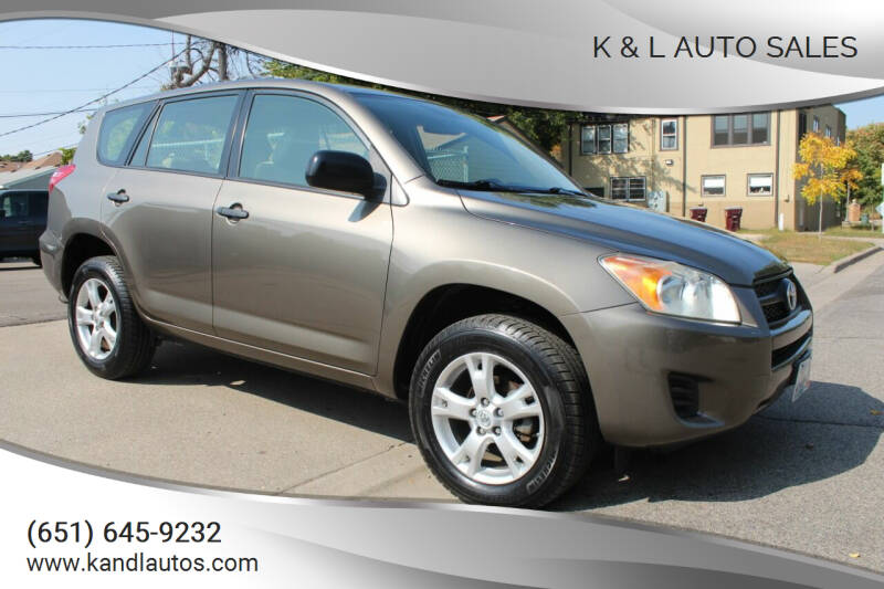2009 Toyota RAV4 for sale at K & L Auto Sales in Saint Paul MN