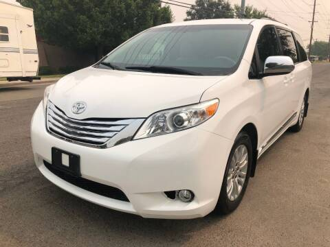 2012 Toyota Sienna for sale at Moun Auto Sales in Rio Linda CA