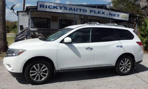 2013 Nissan Pathfinder for sale at RICKY'S AUTOPLEX in San Antonio TX