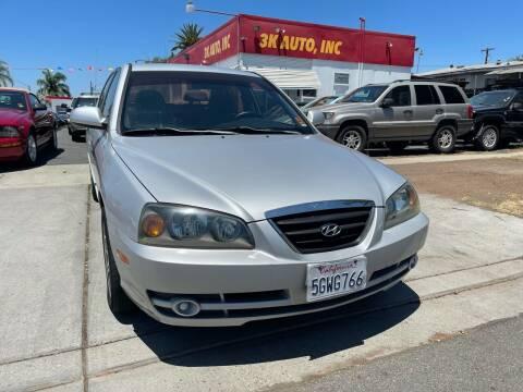 2004 Hyundai Elantra for sale at 3K Auto in Escondido CA