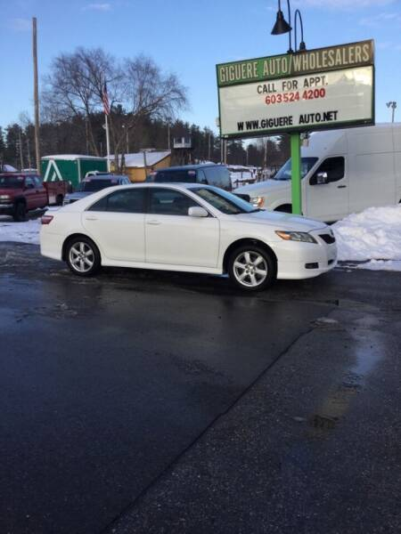 2009 Toyota Camry for sale at Giguere Auto Wholesalers in Tilton NH