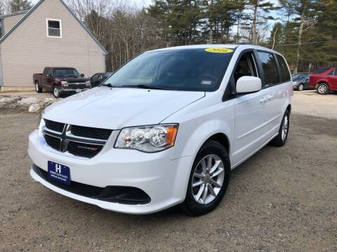2016 Dodge Grand Caravan for sale at Hornes Auto Sales LLC in Epping NH