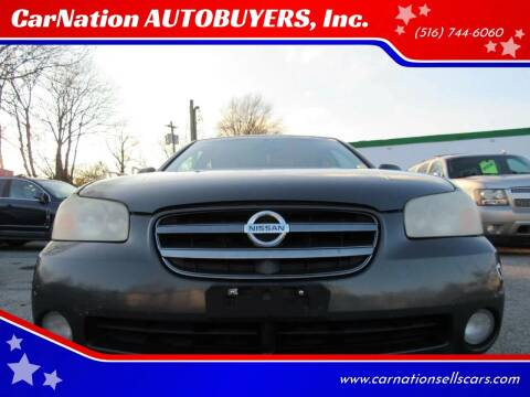 2003 Nissan Maxima for sale at CarNation AUTOBUYERS Inc. in Rockville Centre NY