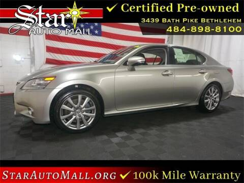 2015 Lexus GS 350 for sale at STAR AUTO MALL 512 in Bethlehem PA